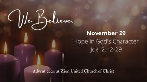 Hope in God's Character